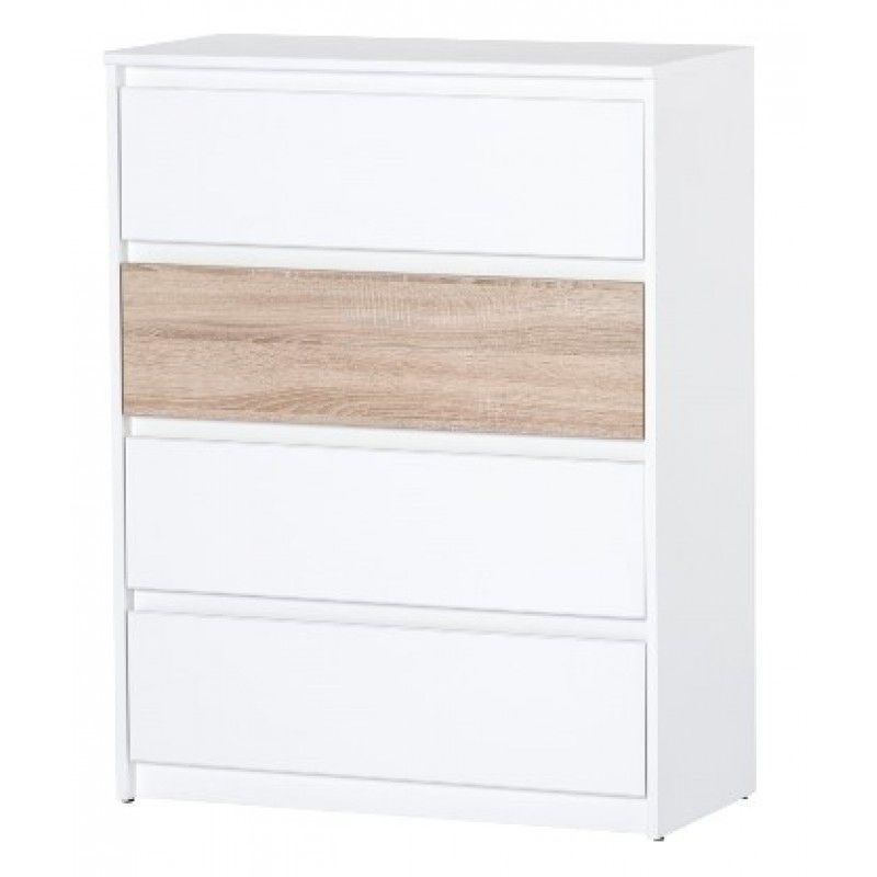 Anna Tall Chest Of Drawer Dresser Bedroom Storage Furniture W07