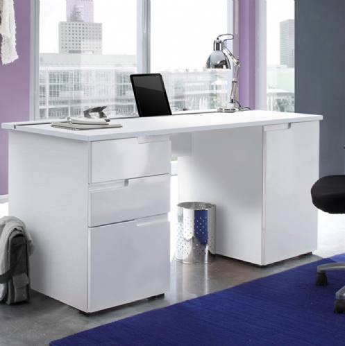 23 Simple White Gloss Home Office Furniture