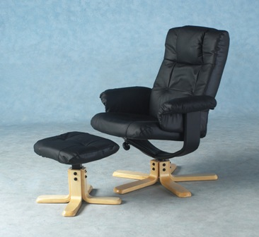 Davino Recliner With Footstool