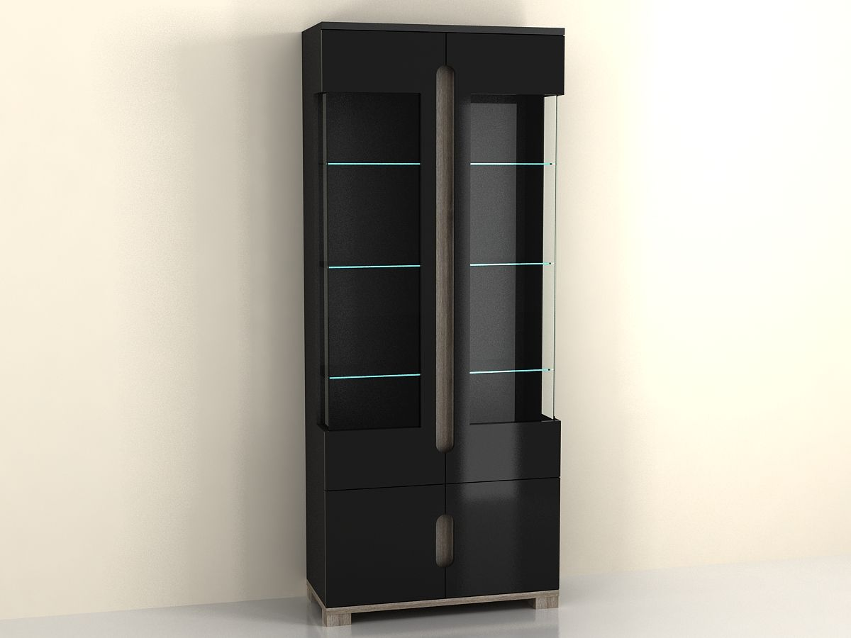 #8B7740 Lorenz High Gloss BLACK Display Cabinet 2 Glass Door  with 1200x900 px of Most Effective Glass Display Cabinet Manufacturer Philippines 9001200 wallpaper @ avoidforclosure.info