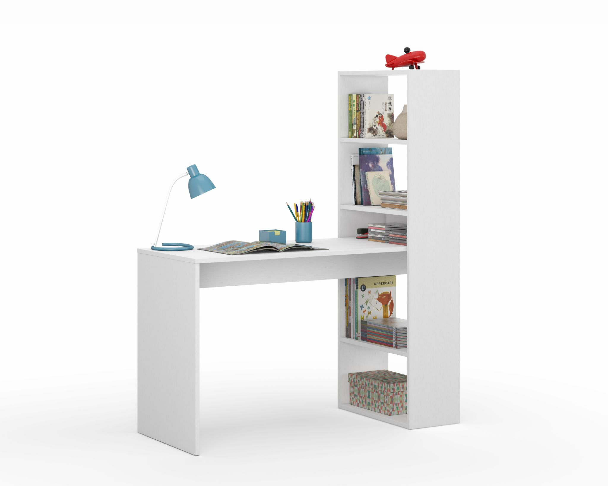 desk design ashley signature number tyler bookcases table return item with bookcase products by creek