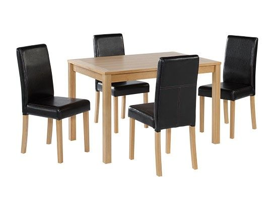 Arles Oak Stain Medium Dining Table 17LD422