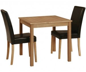 Arles Oak Stain Small Dining Table 17LD423