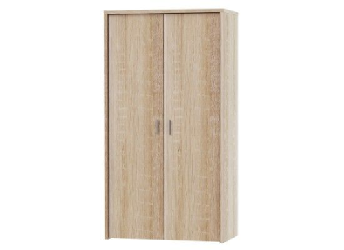 Avignon Modern Oak Finish 2 Door Wardrobe 17LD80