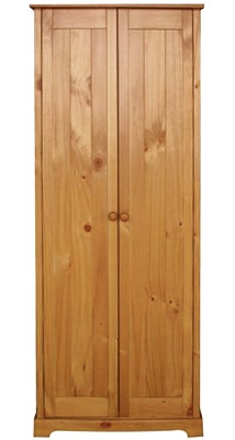 Baltik Pine 2 Door Wardrobe