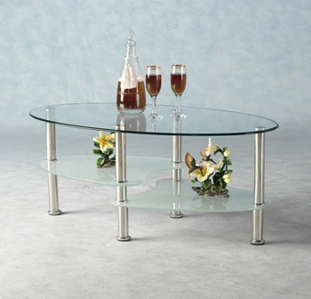 Barminato Glass Coffee Table