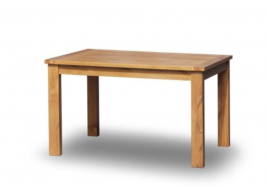 Beaune Solid Pine Fixed Top Dining Table 17LD322