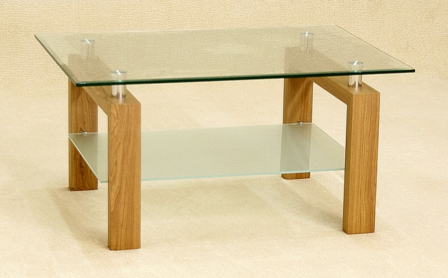 Diana Glass Coffee Table HL289-18