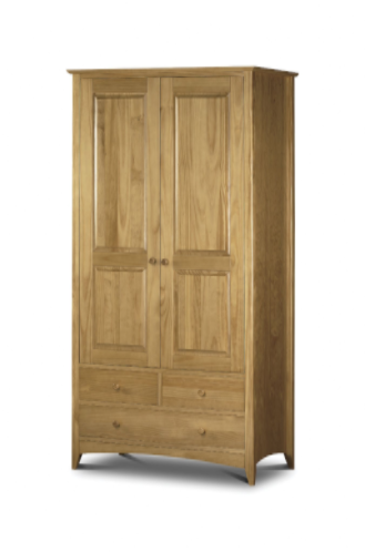 Ercolano Antique Pine Lacquered Combination Wardrobe JB267