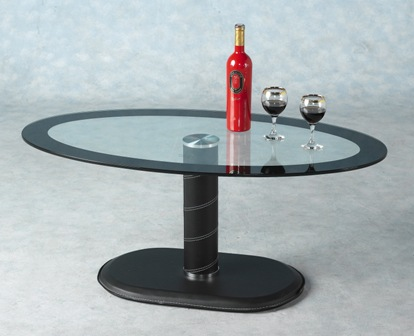 Germain Glass Coffee Table