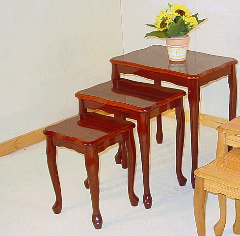Jaquez Mahogany Nest Of Tables HL194