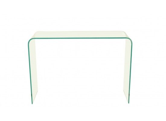 Maubeuge Bent Glass Console Table 17LD488