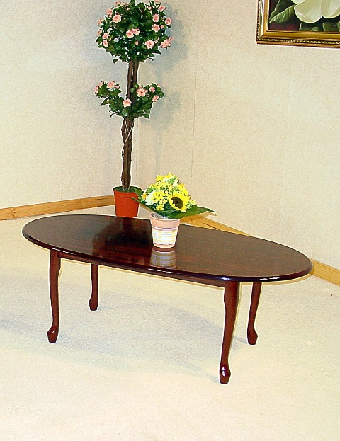 Queens Mahogany Coffee Table HL246-18