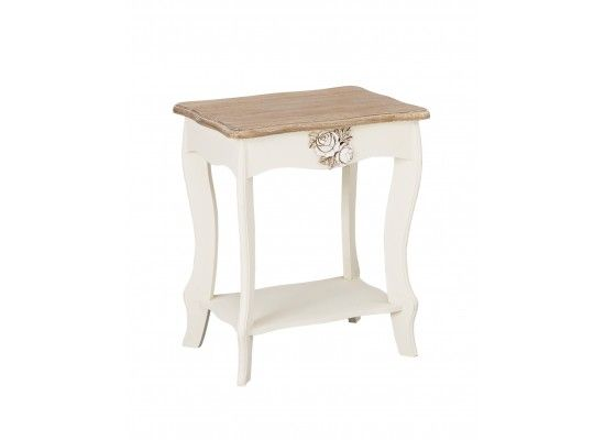Rennes soft white and cream lamp table 17ld384 aloadofball Choice Image