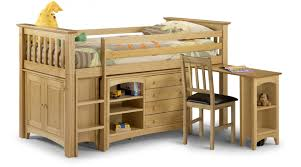 Segovia Solid Pine Rich Antique Finish Sleep Station JB91