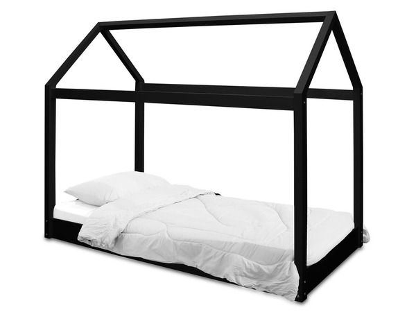 Seine Black Single House Bed 19LD313