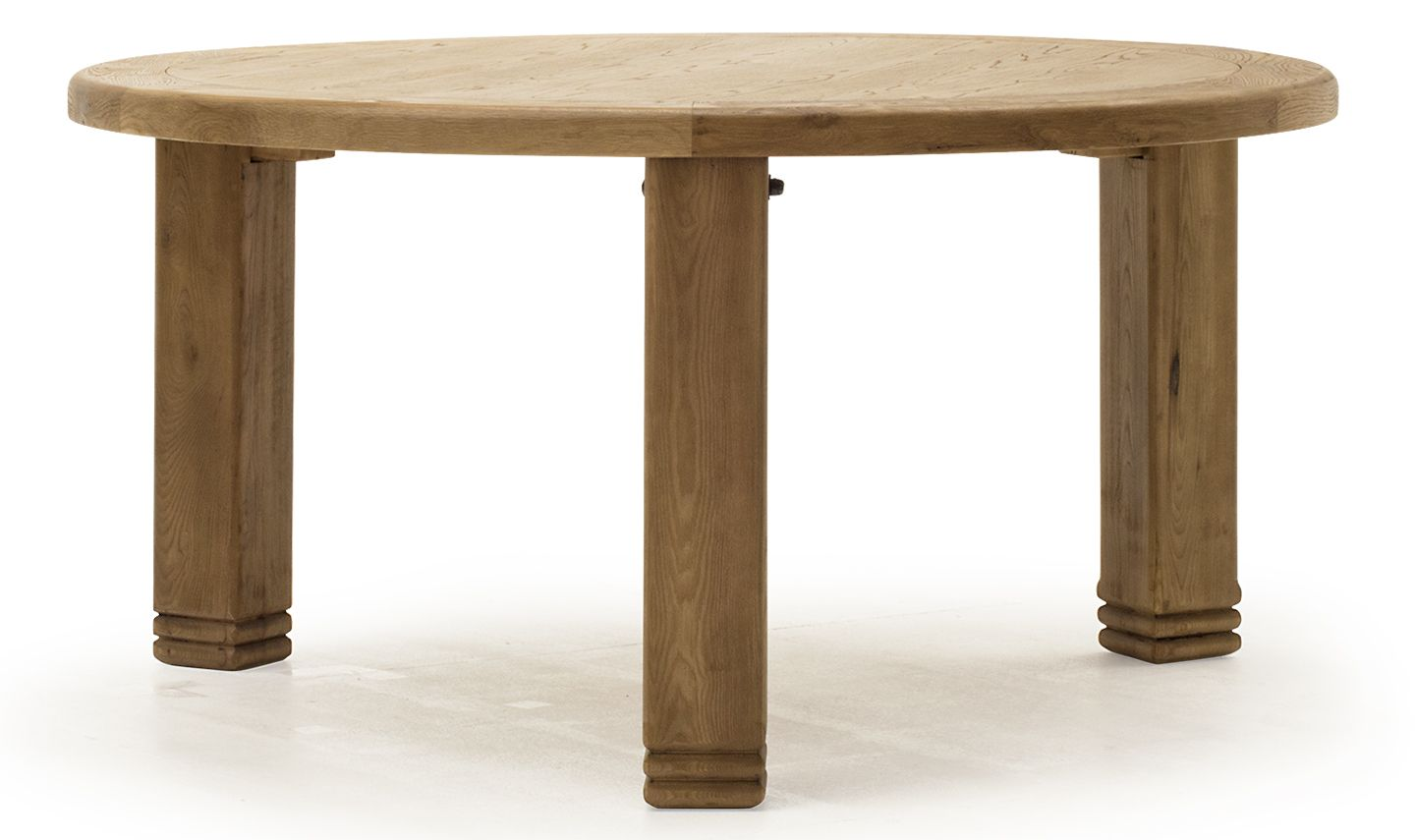 Sorrento Rustic Solid Oak Round Dining Table 18vd354