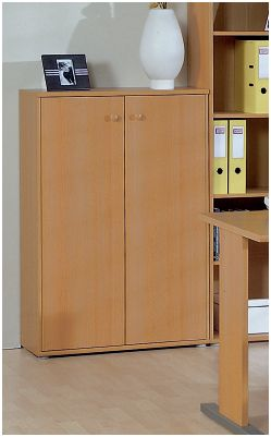 Tempra Office Beech Filing and Stationery Cupboard KK30-127