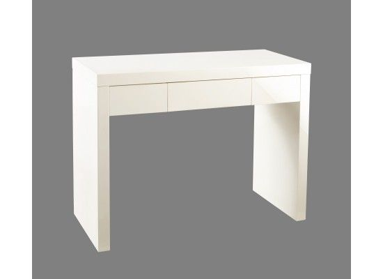 Troyes Cream High Gloss Dressing Table 2017 LD96