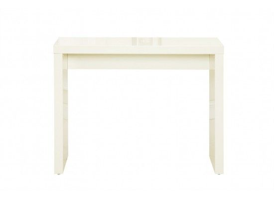 Troyes High Gloss Cream Finish Console Table 17LD431