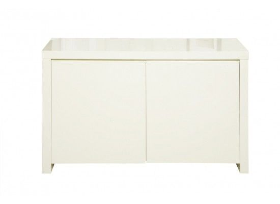 Troyes High Gloss Cream Finish Sideboard 17LD432