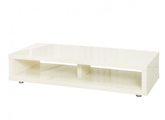 Troyes High Gloss Cream Finish TV Stand 17LD429