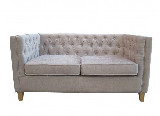 Villandry Mink Fabric Sofa 17LD527