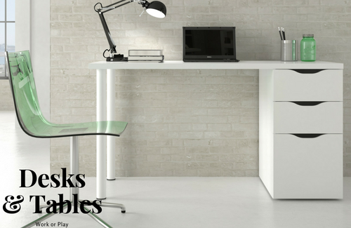 Desks and Tables, for work or play - stylish and functional furniture