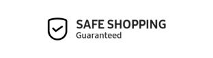 Safe Shopping Guaranteed - Protected by SSL