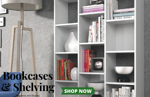 Bookcases and Shelving, Organise and Display - storage solutions with style